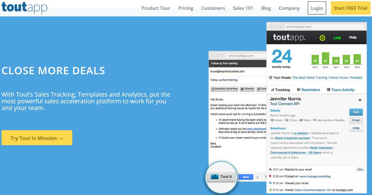 Zillionize invests in ToutApp – Sales Acceleration Solution through Intelligent Emails