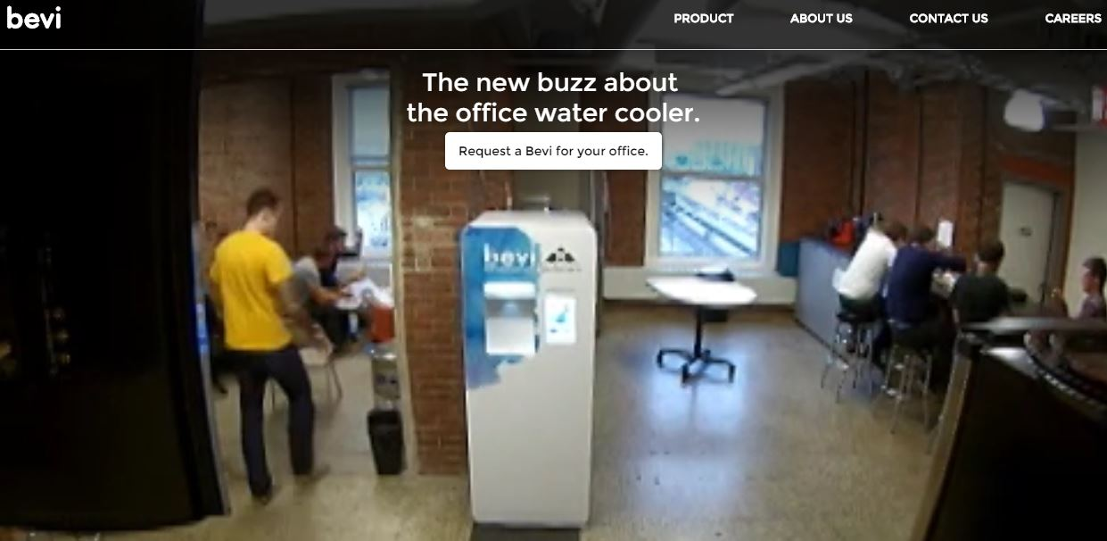 Bevi – An Office Water Cooler Machine To Instantly Make Flavored And Sparkling Drinks