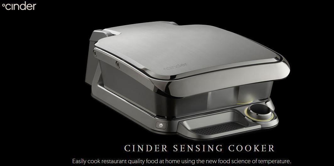 Cinder – Sensing Food Cooking Device