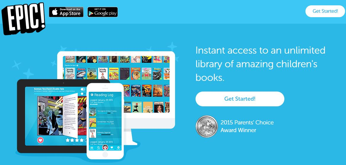 EPIC – An Unlimited Library of Children's Books