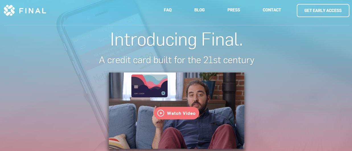 Final – A Credit Card Control Service