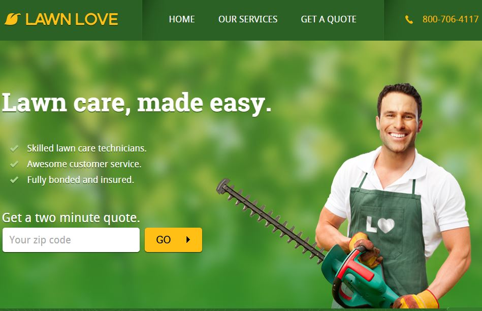 Lawn Love – Get Online Service For Lawn Care By Certified Lawn Care Technicians