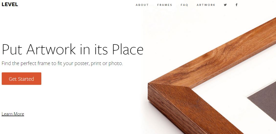 Level – Turn Digital Contents Into Handcrafted Frames