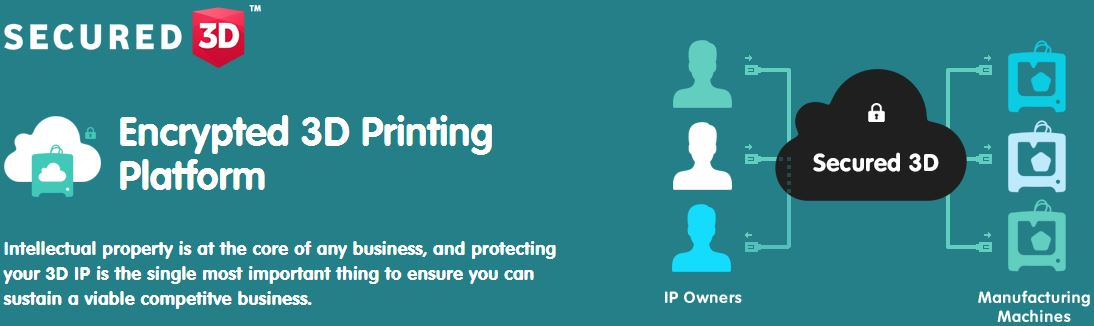 Secured3D - A Secured Cloud 3D Printing Service from Networked or Remote Location