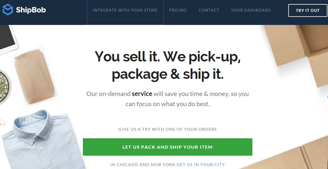 ShipBob – An On-Demand Packing And Shipping Service For Businesses