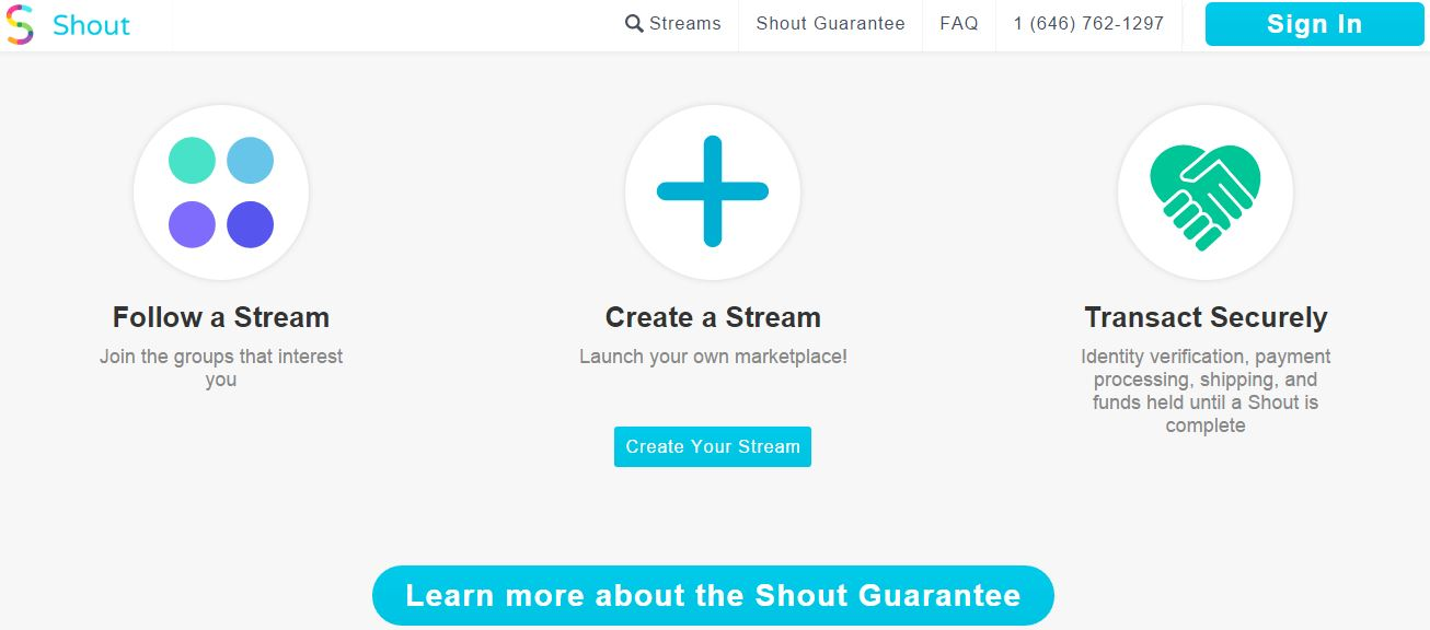 Shout – A Classifieds App To Buy, Sell and Exchange Anything