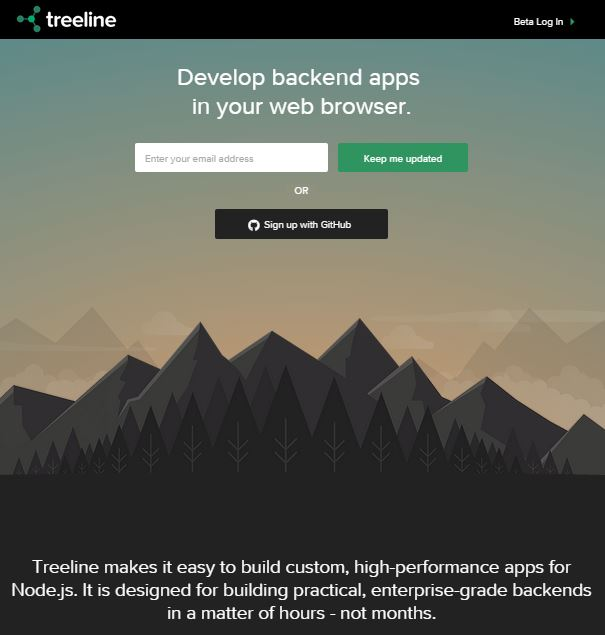 Treeline – A Visual Backend Builder for Your Apps