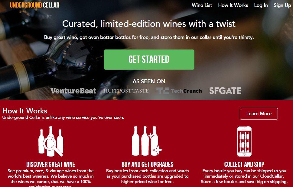 Underground Cellar – Online Wine Marketplace For Buying Premium Wines