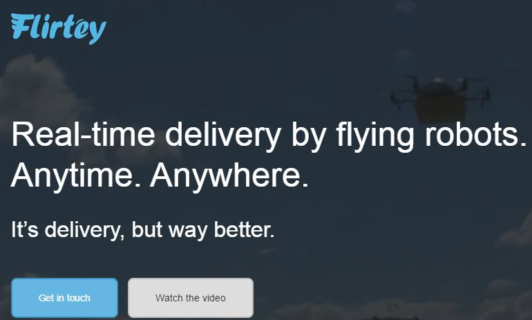 Flirtey – A Commercial Drone Service for Delivering Your Courier Packages