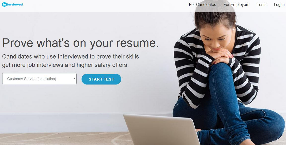 Interviewed – An Advanced Jobs Simulation Tools Set to Prove Skills on Resume – Hire & Get Hired Faster