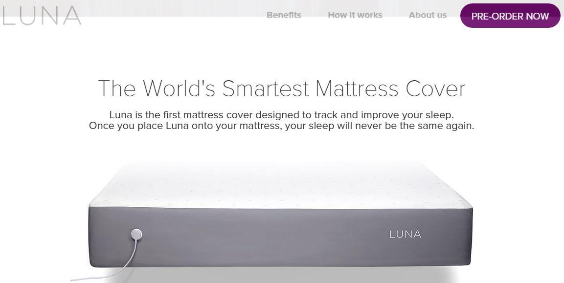 Luna – Sleep Smart with Smart Bed Mattress Cover